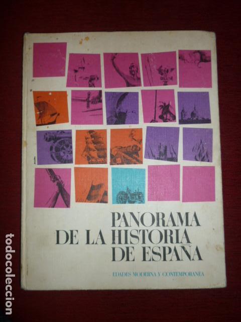 ALBUM DE CROMOS COMPLETO PANORAMA DE LA HISTORIA DE ESPAÑA (EDAD MODERNA Y CONTEMPORANEA). (Coleccionismo - Cromos y Álbumes - Álbumes Completos)