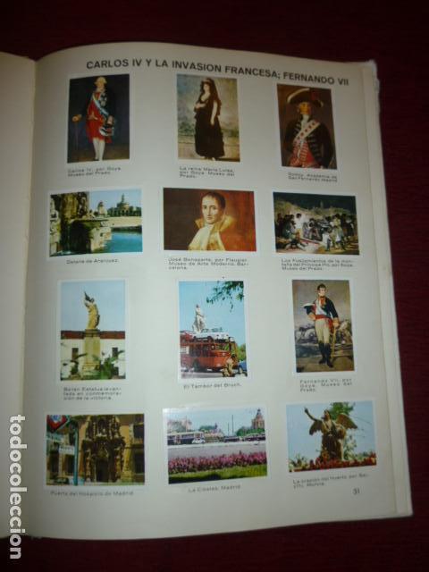 Coleccionismo Álbum: ALBUM DE CROMOS COMPLETO PANORAMA DE LA HISTORIA DE ESPAÑA (EDAD MODERNA Y CONTEMPORANEA). - Foto 2 - 66978498