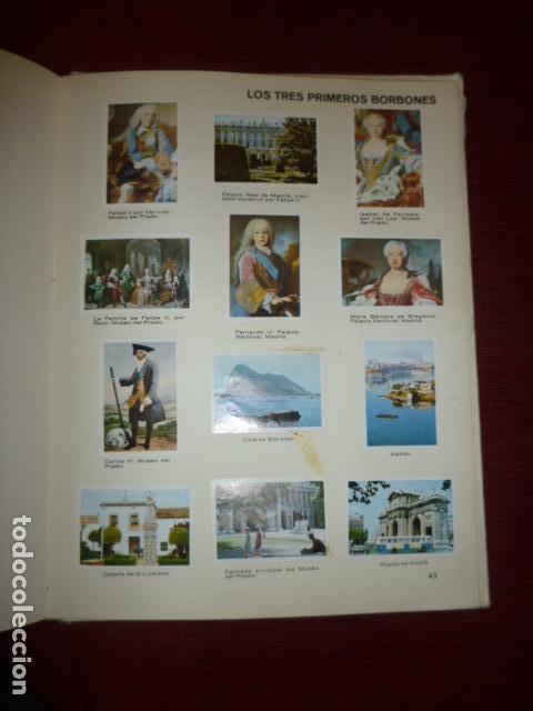 Coleccionismo Álbum: ALBUM DE CROMOS COMPLETO PANORAMA DE LA HISTORIA DE ESPAÑA (EDAD MODERNA Y CONTEMPORANEA). - Foto 4 - 66978498