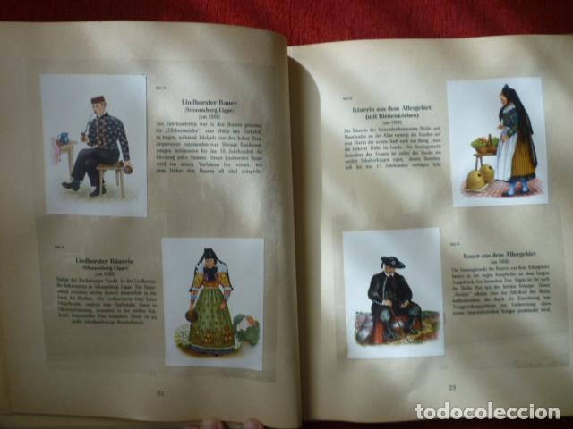 Coleccionismo Álbum: PRECIOSO ALBUM ALEMAN COMPLETO DE TRAJES TIPICOS. (DEUTSCHEN VOLKSTRACHTEN). AÑOS 50. - Foto 2 - 66978838