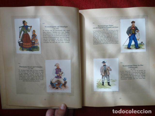 Coleccionismo Álbum: PRECIOSO ALBUM ALEMAN COMPLETO DE TRAJES TIPICOS. (DEUTSCHEN VOLKSTRACHTEN). AÑOS 50. - Foto 4 - 66978838