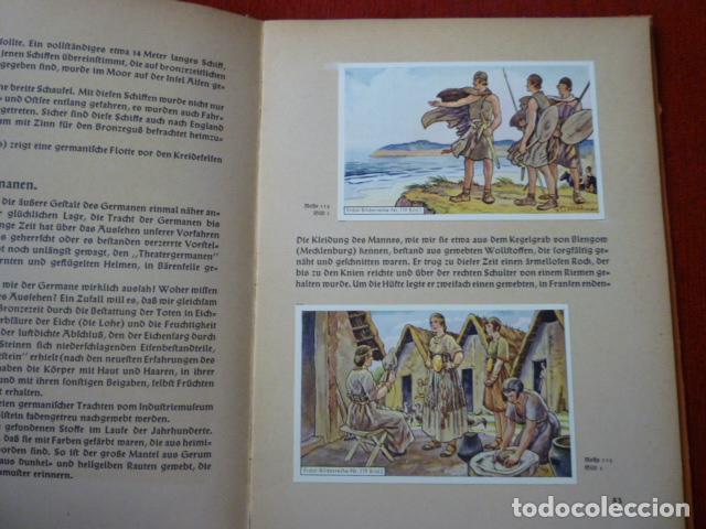 Coleccionismo Álbum: ALBUM ALEMAN COMPLETO DE LA PREHISTORIA EN ALEMANIA. (AUS DEUTFCHLANDS VORZEIT) AÑO 1937. - Foto 3 - 66978918