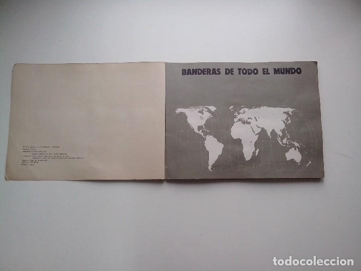 Coleccionismo Álbum: ALBUM BANDERAS DE TODO EL MUNDO SALVAT 1973 COMPLETO Y EN BUEN ESTADO - Foto 2 - 67043494