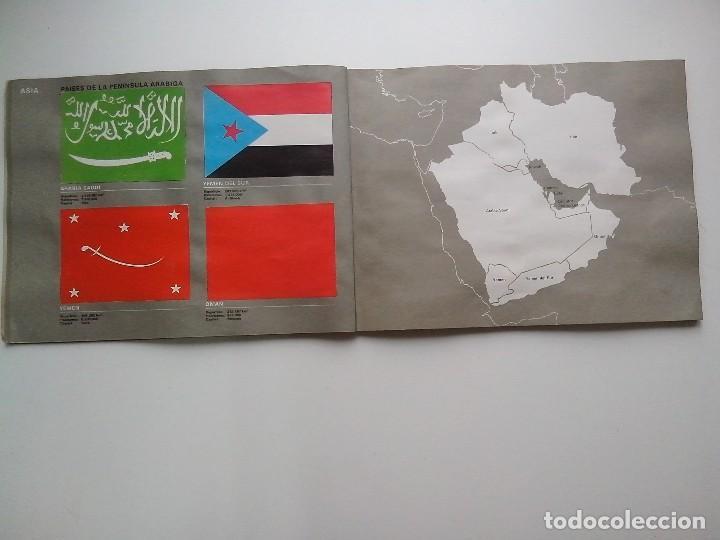 Coleccionismo Álbum: ALBUM BANDERAS DE TODO EL MUNDO SALVAT 1973 COMPLETO Y EN BUEN ESTADO - Foto 10 - 67043494