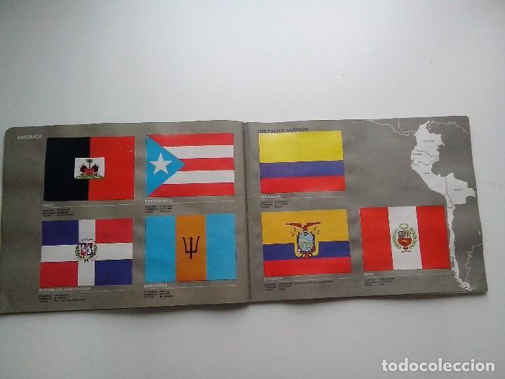 Coleccionismo Álbum: ALBUM BANDERAS DE TODO EL MUNDO SALVAT 1973 COMPLETO Y EN BUEN ESTADO - Foto 18 - 67043494
