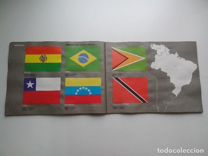 Coleccionismo Álbum: ALBUM BANDERAS DE TODO EL MUNDO SALVAT 1973 COMPLETO Y EN BUEN ESTADO - Foto 19 - 67043494