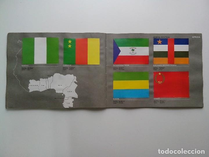 Coleccionismo Álbum: ALBUM BANDERAS DE TODO EL MUNDO SALVAT 1973 COMPLETO Y EN BUEN ESTADO - Foto 24 - 67043494