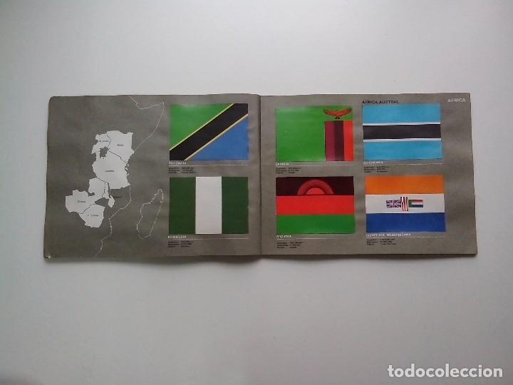 Coleccionismo Álbum: ALBUM BANDERAS DE TODO EL MUNDO SALVAT 1973 COMPLETO Y EN BUEN ESTADO - Foto 26 - 67043494