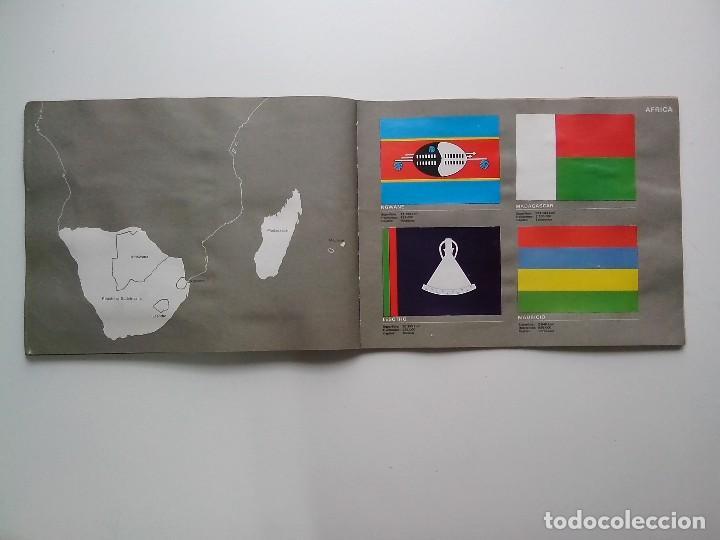 Coleccionismo Álbum: ALBUM BANDERAS DE TODO EL MUNDO SALVAT 1973 COMPLETO Y EN BUEN ESTADO - Foto 27 - 67043494