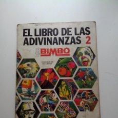Coleccionismo Álbum: ALBUM EL LIBRO DE LAS ADIVINANZAS 2 BIMBO 1975 COMPLETO. Lote 67047902