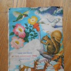 Coleccionismo Álbum: ALBUM ANIMALES DEL MUNDO, FHER AÑOS 50 COMPLETO. Lote 67103441
