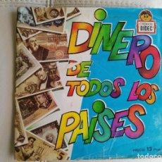 Coleccionismo Álbum: ALBUM COMPLETO DINERO DE TODOS LOS PAÍSES. Lote 67321909