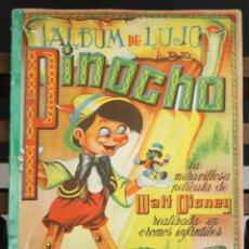Coleccionismo Álbum: 8207 - ÁLBUM DE DE LUJO. PINOCHO. COMPLETO. WALT DISNEY. EDICIÓN. FHER.. Lote 67503065