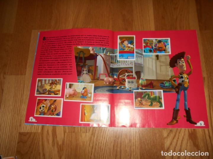 Coleccionismo Álbum: ALBUM TOY STORY DISNEY 1 PANINI COMPLETO ORIGINAL - Foto 3 - 67329061