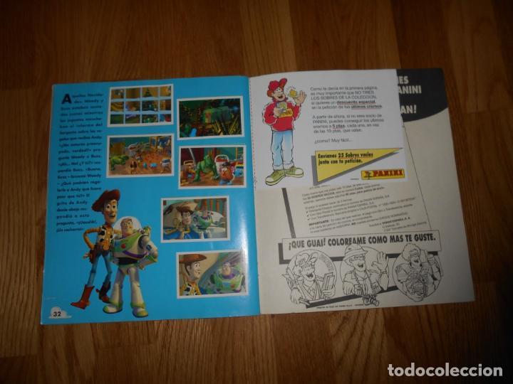 Coleccionismo Álbum: ALBUM TOY STORY DISNEY 1 PANINI COMPLETO ORIGINAL - Foto 8 - 67329061