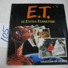 Coleccionismo Álbum: ANTIGUO ALBUM DE CROMOS ET (EL EXTRATERRESTRE) COMPLETO. Lote 68347649