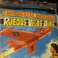 Coleccionismo Álbum: RUEDAS VELAS ALAS CHOCOLATES DULCINEA. Lote 68637441