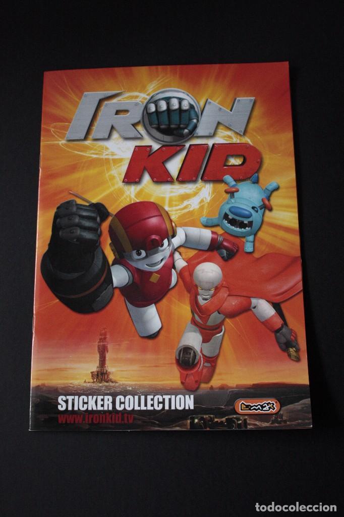 'IRON KID' (COLECCIÓN COMPLETA) (Coleccionismo - Cromos y Álbumes - Álbumes Completos)