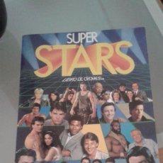 Coleccionismo Álbum: ALBUM DE CROMOS TOTALMENTE COMPLETO SUPER STARS // EN EXCELENTE ESTADO //. Lote 68862533