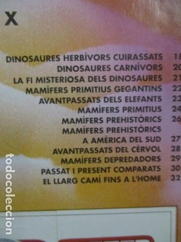 Coleccionismo Álbum: Dinosaurs Club Super 3. Álbum de Cromos completo. - Foto 4 - 68883897
