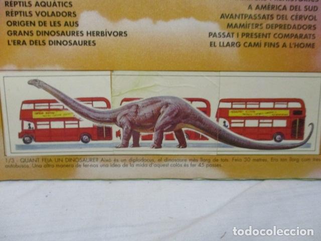 Coleccionismo Álbum: Dinosaurs Club Super 3. Álbum de Cromos completo. - Foto 5 - 68883897