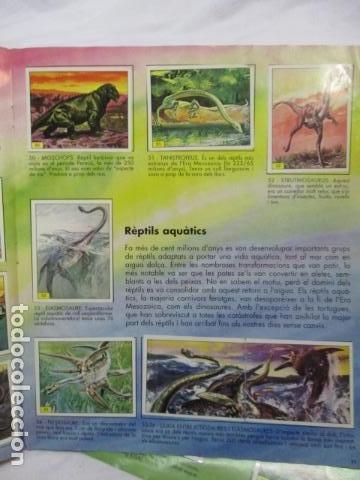 Coleccionismo Álbum: Dinosaurs Club Super 3. Álbum de Cromos completo. - Foto 8 - 68883897