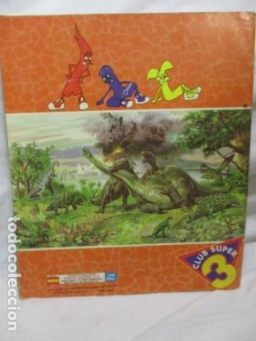 Coleccionismo Álbum: Dinosaurs Club Super 3. Álbum de Cromos completo. - Foto 14 - 68883897