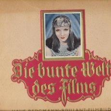 Coleccionismo Álbum: DIE BUNTE WELT DES FILMS. ALBUM ALEMÁN DE ARTISTAS DEL CINE MUNDIAL. AÑOS 30. COMPLETO 208 FOTO-CRO-. Lote 68981057