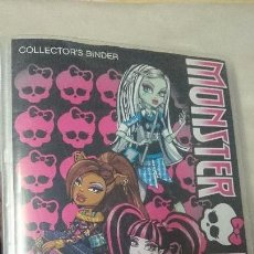 Coleccionismo Álbum: ÁLBUM COMPLETO PHOTOCARDS MONSTER HIGH 2011. Lote 69023253