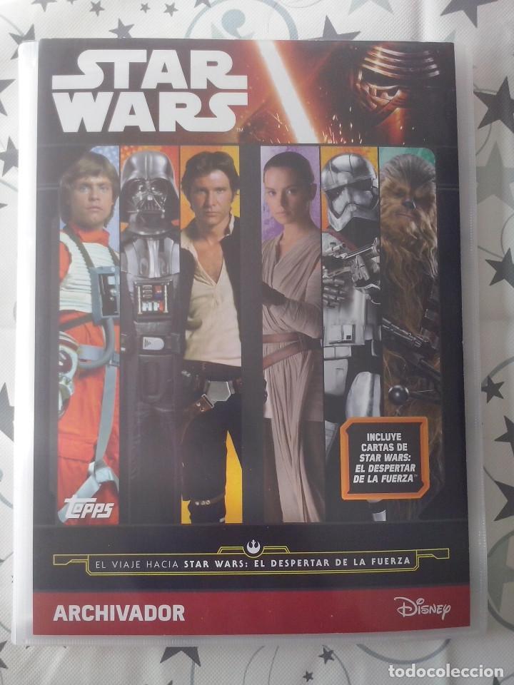 Topps Star Wars viaje a la fuerza despierta héroes de la resistencia de su elección