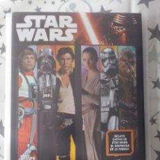 Coleccionismo Álbum: TOPPS-ALBUM EL VIAJE HACIA STAR WARS EL DESPERTAR DE LA FUERZA.207 CARDS+1 ED.LIMITADA.NUEVO. Lote 101421783