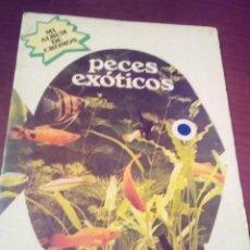 Coleccionismo Álbum: ALBUM DE CROMOS PECES EXOTICOS COMPLETO. Lote 69959077