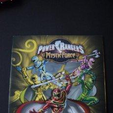 Coleccionismo Álbum: 'POWER RANGERS - MYSTIC FORCE' (COLECCIÓN COMPLETA). Lote 70230857