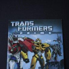 Coleccionismo Álbum: 'TRANSFORMERS PRIME' (COLECCIÓN COMPLETA). Lote 70269353