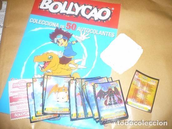 DIGIMON- PORTUGAL ( COLECCIÓN COMPLETA 50 CROMOS + ALBUM + 2 CROMOS DOBLES ) BOLLYCAO (Coleccionismo - Cromos y Álbumes - Álbumes Completos)