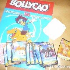 Coleccionismo Álbum: DIGIMON- PORTUGAL ( COLECCIÓN COMPLETA 50 CROMOS + ALBUM + 2 CROMOS DOBLES ) BOLLYCAO. Lote 179538461