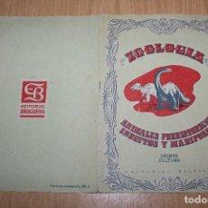 Coleccionismo Álbum: BRUGUERA - ZOOLOGIA ANIMALES HISTORICOS INSECTOS Y MARIPOSAS - CROMOS CULTURA - COMPLETO - AÑOS 40 . Lote 71754259