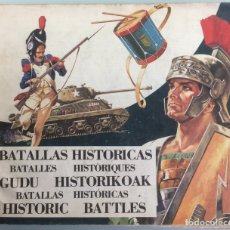 Sammeln Sammelalbum - BATALLAS HISTORICAS. DIFUSORA DE LA CULTURA. 1974. MBE - 71952533