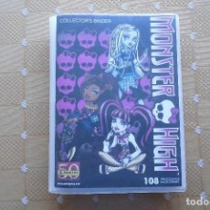 Coleccionismo Álbum: ALBUM COMPLETO MONSTER HIGH, EDITORIAL PANINI 2011, 108 PHOTOCARDS. Lote 72109567