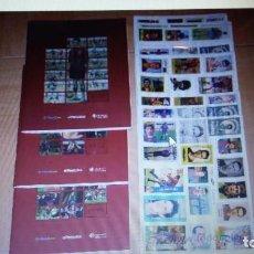 Coleccionismo Álbum: FC BARCELONA: HISTORIA EN CROMOS- 3 ALBUMES COMPLETOS. Lote 72194339