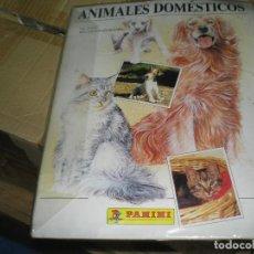 Coleccionismo Álbum: ALBUM COMPLETO DE ANIMALES DOMESTICOS. Lote 72391979