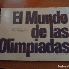 Coleccionismo Álbum: EL MUNDO DE LAS OLIMPIADAS,ALBUM COMPLETO DE CROMOS, DE LABORATORIOS VITA . Lote 72430443