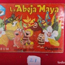 Coleccionismo Álbum: ALBUM ABEJA MAYA ,EDICIONES QUELCOM. (FALTAN 3 CROMOS). Lote 72559951