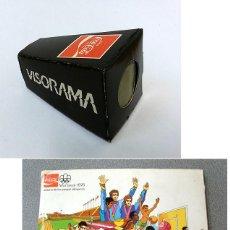 Coleccionismo Álbum: ALBUM 1976 HISTORIA DE LOS JUEGOS OLIMPICOS. MONTREAL 76 COCA COLA. COMPLETO CON VISOR. Lote 52821719