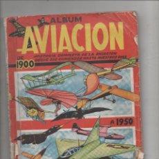 Coleccionismo Álbum: ÁLBUM DE CROMOS COMPLETO: ALBUM DE AVIACIÓN DE 1900 A 1950 - DIBUJADOS POR BLASCO.DA. Lote 72775483