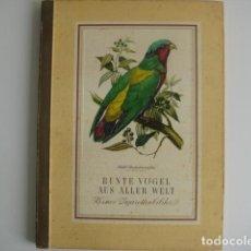 Coleccionismo Álbum: ÁLBUM CROMOS ALEMÁN BUNTE VOGEL AUS ALLER WELT 2. COMPLETO MB ESTADO. Lote 72808927