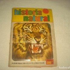 Coleccionismo Álbum: HISTORIA NATURAL . ED. BRUGUERA . COMPLETO. Lote 72843295