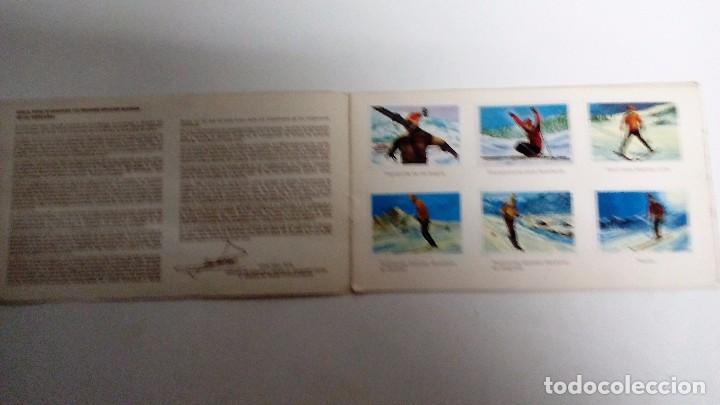 Coleccionismo Álbum: EL DEPORTE VISTO POR SUS ASES ESQUÍ Álbum completo. Colección CHOCOSPORT/NESTLÉ - Foto 2 - 72955511