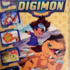 Coleccionismo Álbum: DIGIMON DIGITAL MONSTERS ALBUM COMPLETO PANINI 2000. Lote 72957255