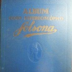 Coleccionismo Álbum: ALBUM FOTO-ESTEREOSCOPICO SOLSONA. TOMO I. COMPLETO. LLEVA EL VISOR. Lote 73018471